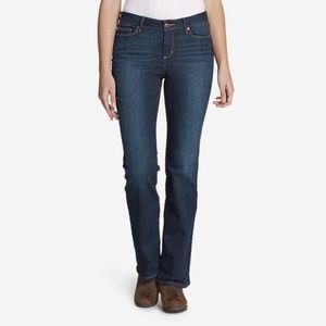 Eddie Bauer Brook Bootcut Slightly Curvy Jeans 10P